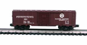 Industrial Rail  Pennsylvania Boxcar #5841