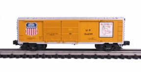 Industrial Rail  Union Pacific Double Door Boxcar #134699