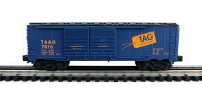 Industrial Rail  TAG Route Double Door Boxcar #7016