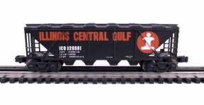 Industrial Rail  Illinois Central Gulf Covered Hopper #320381
