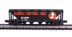 Industrial Rail  Illinois Central Gulf Covered Hopper #320384