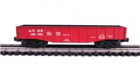 Industrial Rail  Santa Fe Gondola #166593