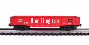 Industrial Rail  Burlington Route CB&Q Gondola #83126
