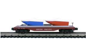 Industrial Rail  Union Pacific Flatcar #50055